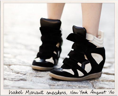 Sneakers par Isabelle Marant