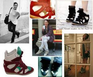 Chaussure sneakers par Isabelle marant