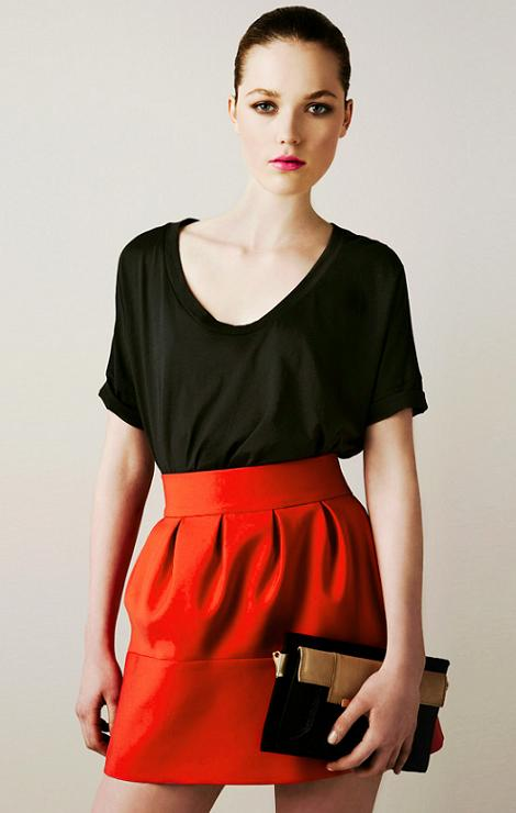 Zara lookbook mars 2011