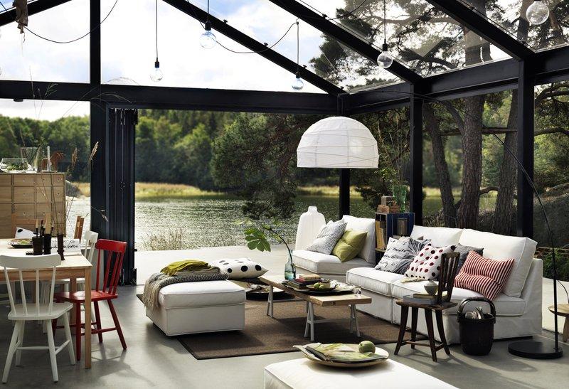 IKEA veranda