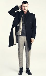 h&m collection homme hiver 2011 2012