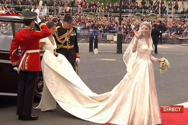 kate robe de mariée