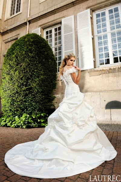 "robe de mariée ""i love you"""