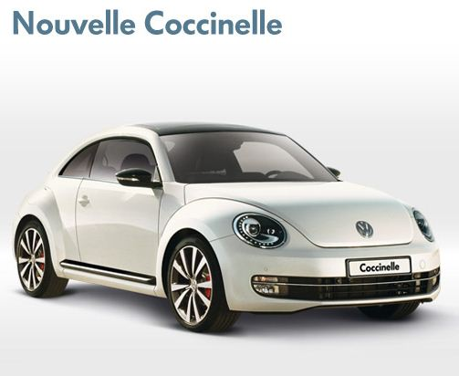 nouvelle coccinelle de volkswagen 2012 la voiture feminine qui nous fait craquer blog. Black Bedroom Furniture Sets. Home Design Ideas