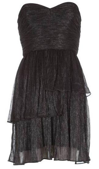 robe-bustier-noire