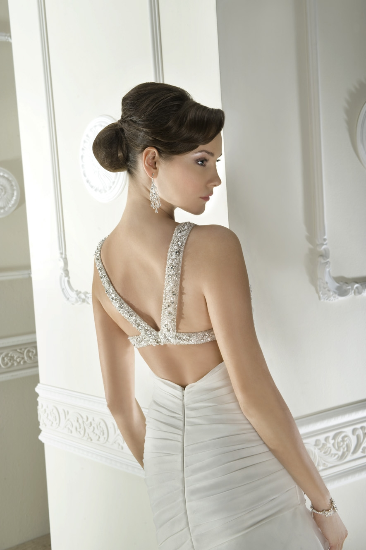 robe de mariée dénudée