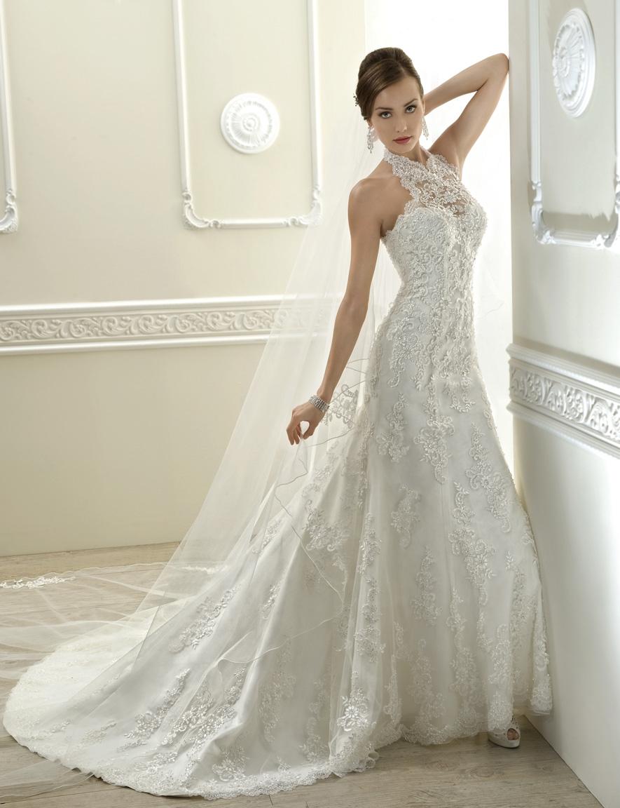 Robe de mariée avec dentelle