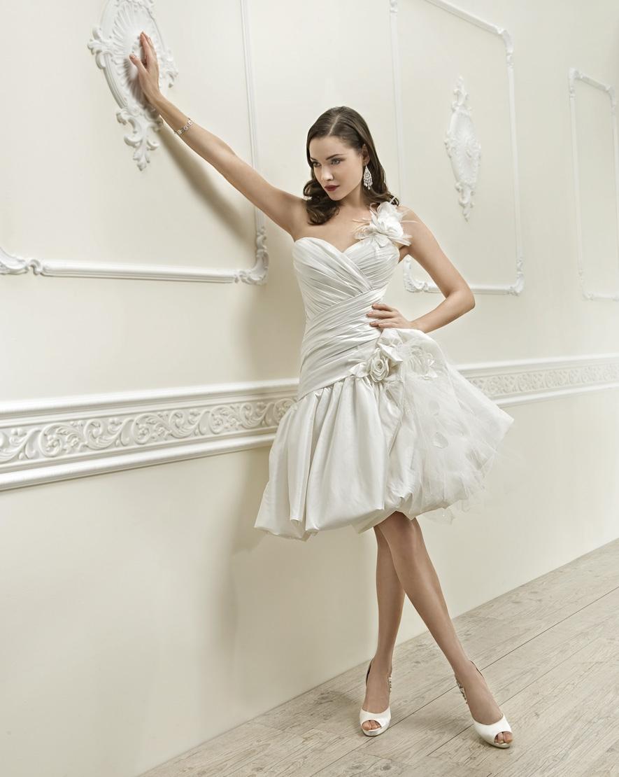 Cosmobella robe de mariée courte