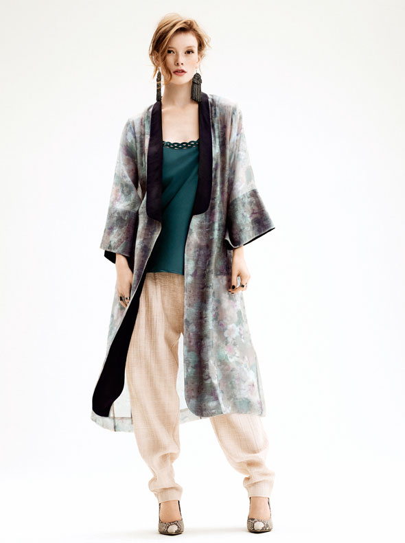 h m femme t 2013 influences japonaises blog. Black Bedroom Furniture Sets. Home Design Ideas