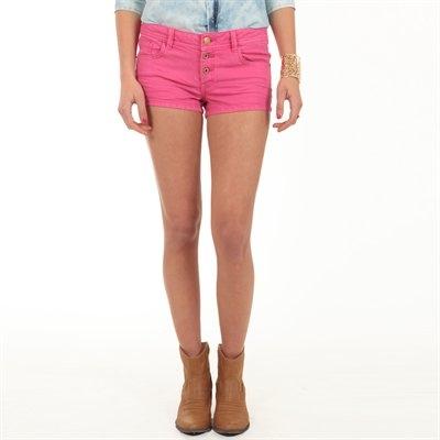 short-jeans-rose-pimkie