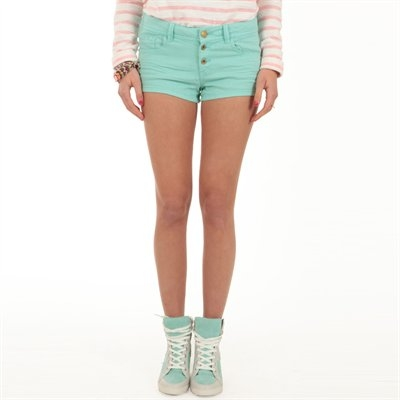 short-jeans-vert
