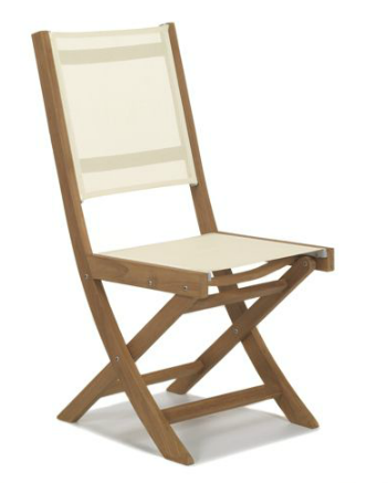 Chaise jardin bois
