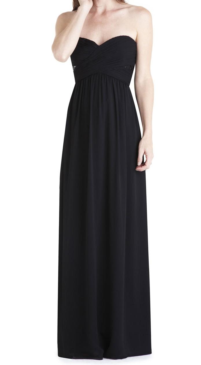 Manoukian robe de soiree noir