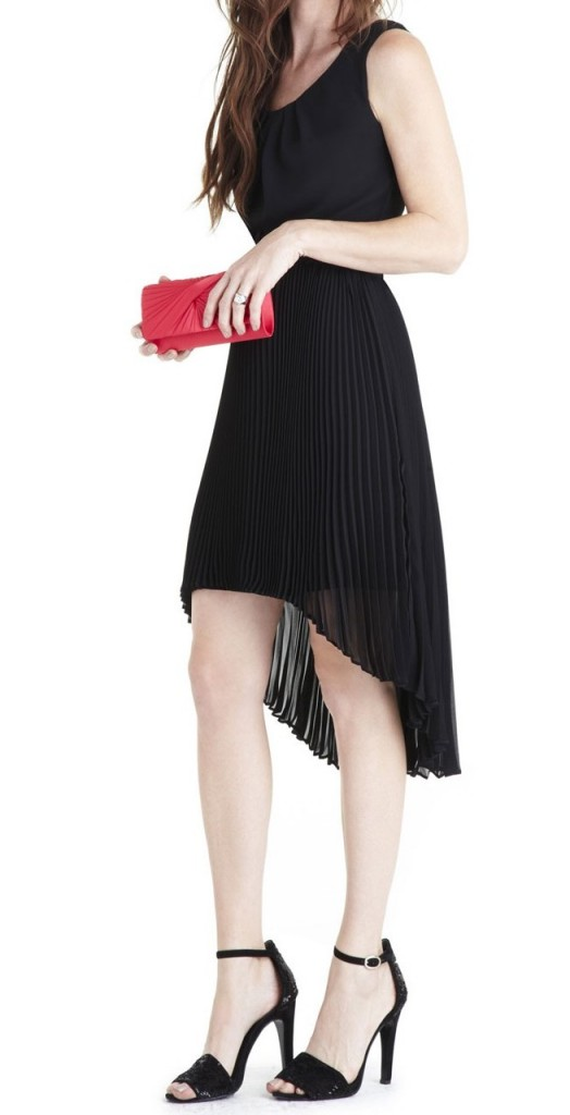 robe-noire-genou-manoukian