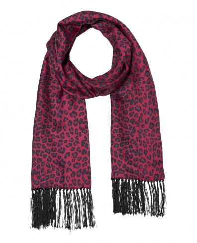 echarpe-bordeaux-the-kooples