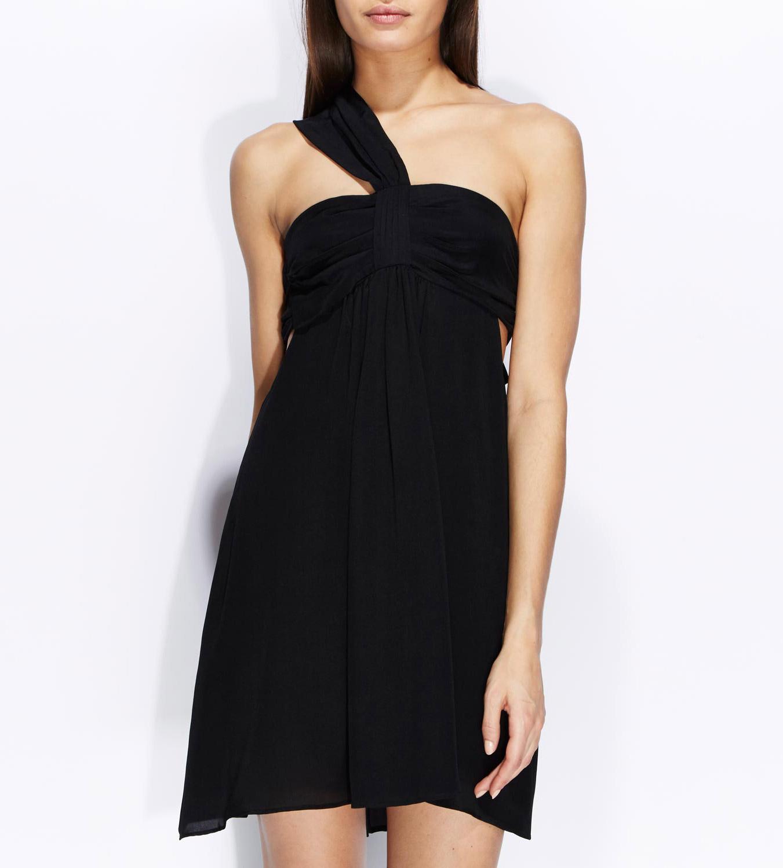 robe-noire-soie