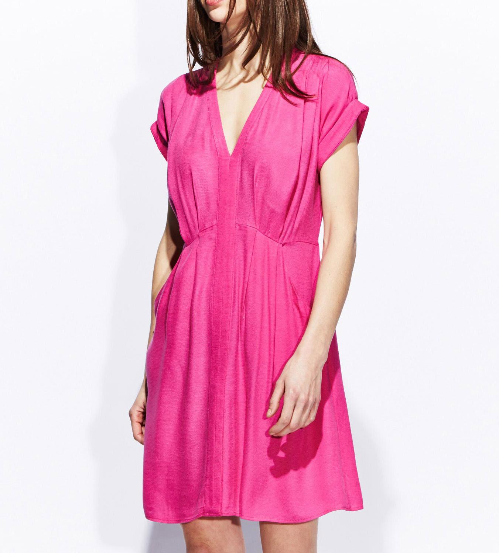 robe-rose-ete-2014-kookai