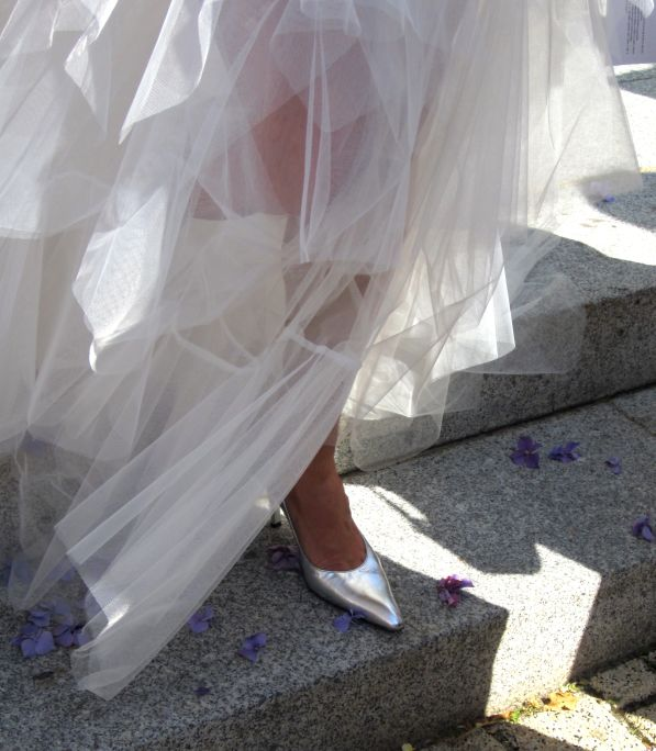 chaussure robe mariée