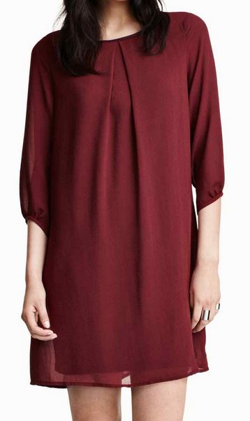 robe-mousseline-rouge-hivers-2015