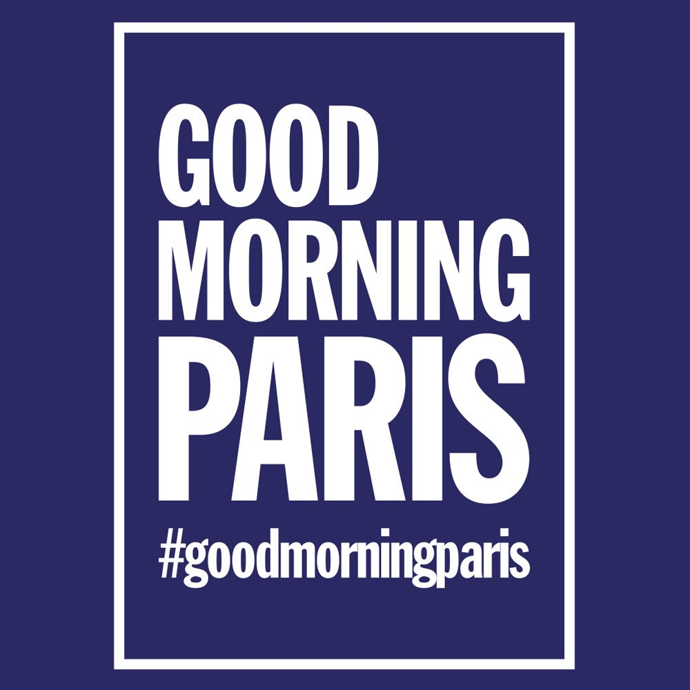 Good morning Paris, radio éphémère