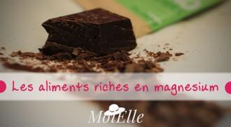 aliments riche en magnesium