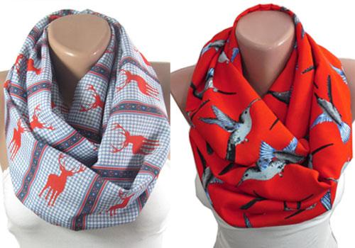 echarpe-foulard-animaux