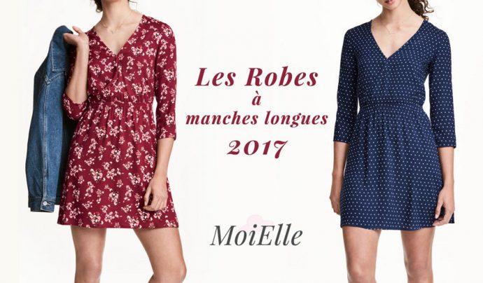 robe manche longue- 2017