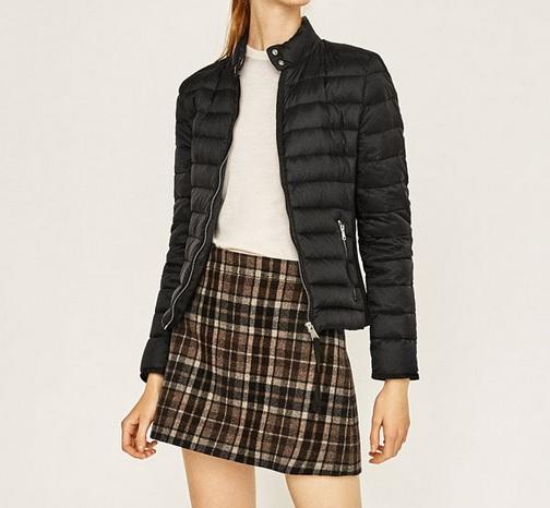 veste-mini-doudoune-noire