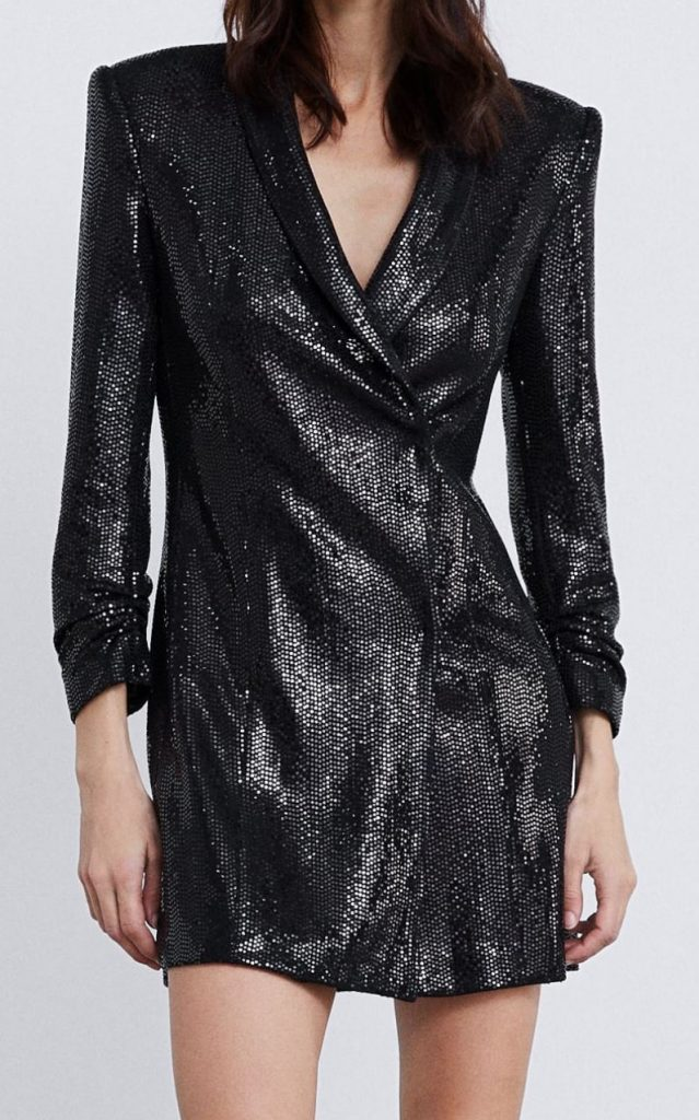 robe-veste-brillante-zara