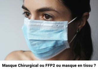 Covid : quel masque ? chirurgical ? FFP2 ? N95 ? en tissu ?